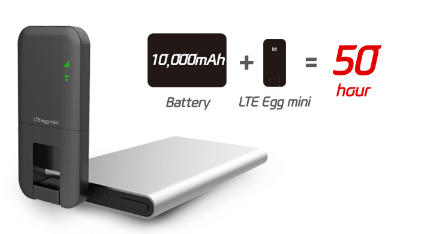 LTE 에그 미니 배터리 활용,올레KT,올레TV